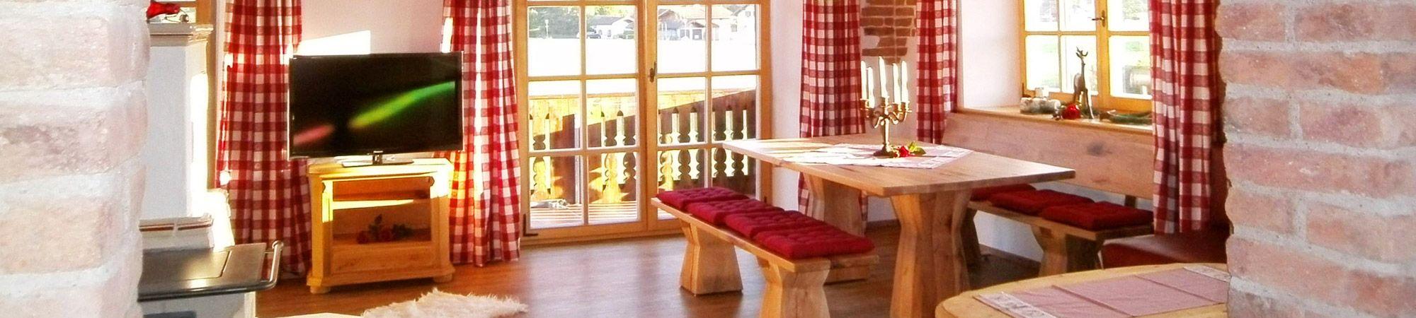 Ferienwohnung Franz Chiemsee - Wohnbereich