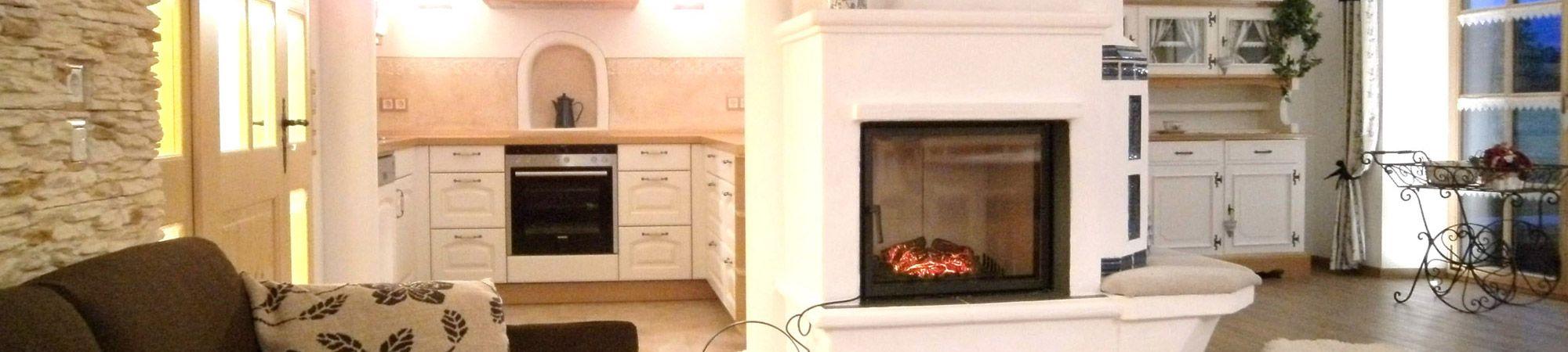Ferienwohnung Sissi am Chiemsee - Wohnbereich, Küche