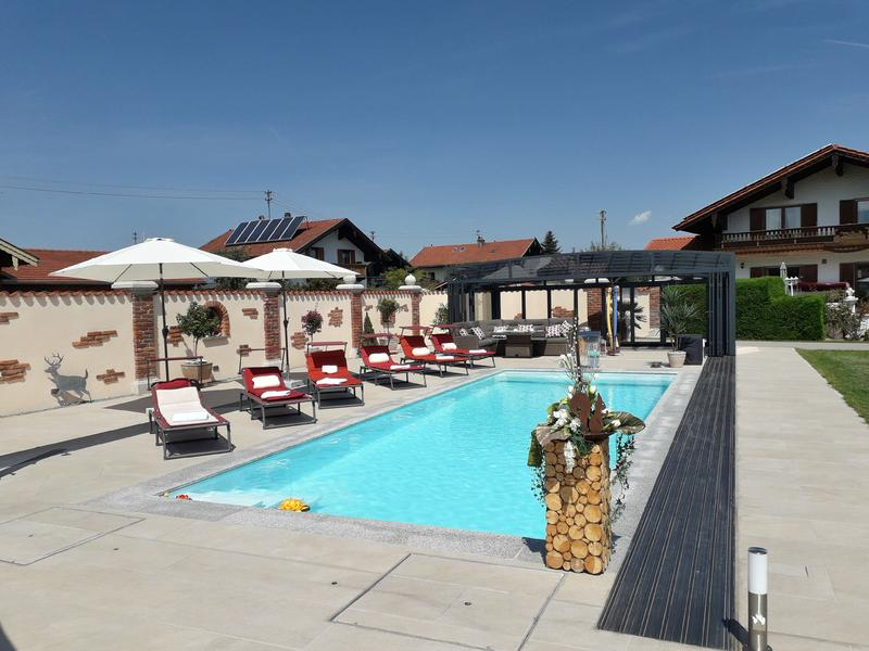 Urlaub Mit Swimmingpool In Ubersee Am Chiemsee